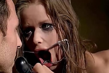 Big mouth needs to fill, and aggressive woman Jenny Noel, must change to humble girl. Part 1. Tamed for swallows her Master big dick. from bdsm swallow
